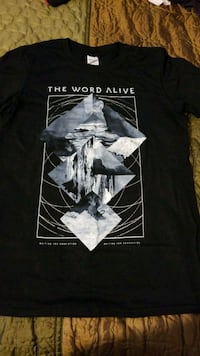 The Word Alive Small shirt Fairfax, 22032