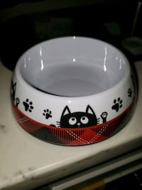 Cat food bowl. Super cute and new! Washington, 20008