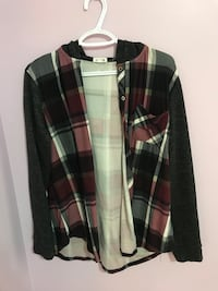 Flannel with hood 3817 km