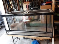 black-frame pet tank Ajax, L1T