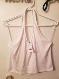 New crop halter top