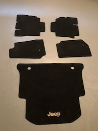 Brand New Never Used 2012 Jeep Wrangler Mats Vaughan, L4H 0Y4