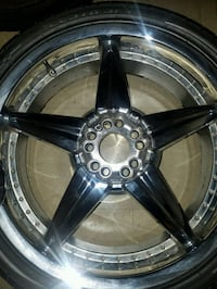 "20"" rims & tires (4 set) like new Dover"