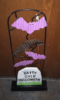 NWT Standing Halloween Decor Independence, 64054