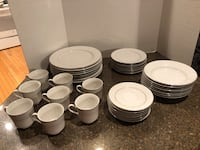 Scarsdale #8079 China 40 Pieces 43 km