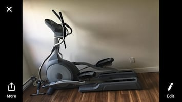 Exerciseur elliptique/ elliptical trainer