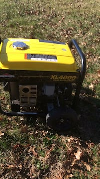 yellow and black Champion portable generator Manassas, 20110