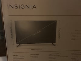 "50"" Insignia LED TV"