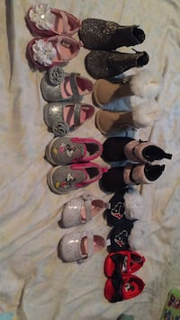 Toddler's assorted shoes Houston, 77049