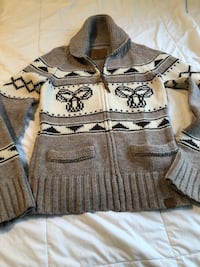 TNA Lambswool  zip cardigan Size Small Vaughan, L6A 1S1