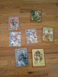A few old foot ball cards aand rookie cards Cottage Grove, 55016