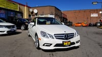 2011 MERCEDES E550 CONVERTIBLE AMG PKG LOADED WITH ONLY 144 KM Toronto