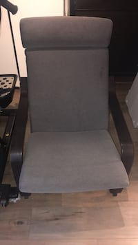 Ikea Poang chair. Great condition. Grey cushion dark brown wood Los Angeles, 90042