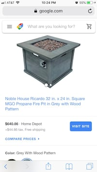 Gas fire pit Mount Holly, 28120