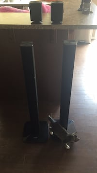 4 Samsung surround  speakers sounds great 30 for all  Edmonton, T6X 0K1