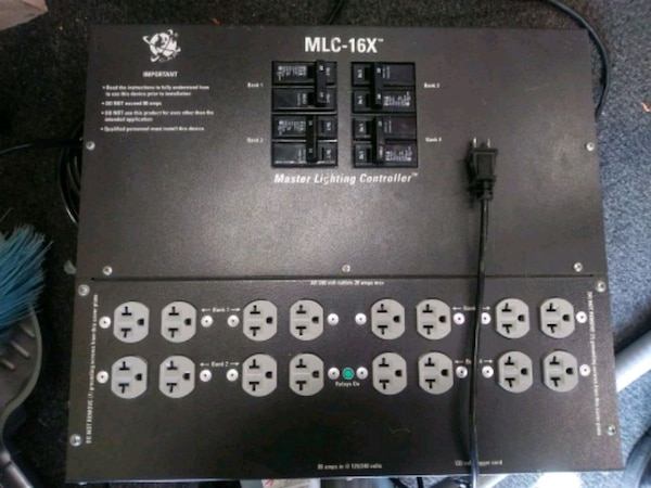 Mlc 16x Master Lighting Controller