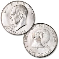 two round silver-colored coins Rosamond, 93560