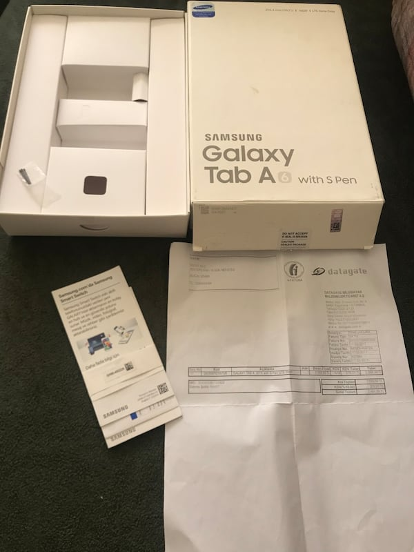 SAMSUNG GALAXY A6 WİTH S PEN TABLET 87f5282f-0278-427c-b030-37f9515a4181