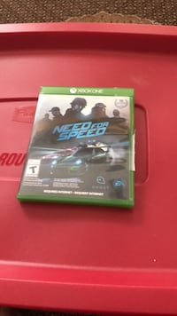 Need for Speed Xbox One game case Burlington, L7M