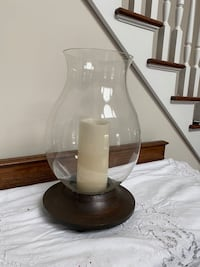 Pottery barn candle holder centerpiece Nissequogue, 11780
