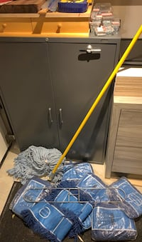 Commercial duster and mop. Toronto, M2L 2Y3