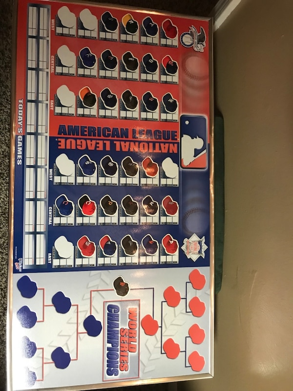 Mlb Magnet Standings Board W All 30 Mlb Teams