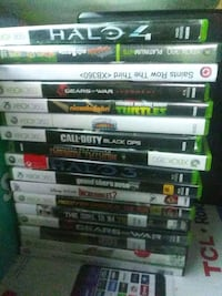 Xbox 360 games 100 for all Newport News, 23601