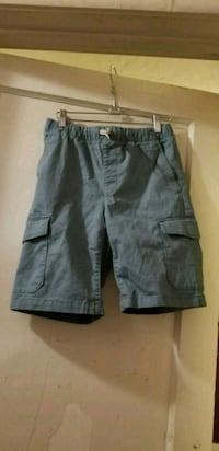 Blue-ish grey-ish shorts. Boys large.  Morgan Hill, 95037