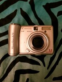 Canon PowerShot A75 3.2 MP Silver Digital Camera 3