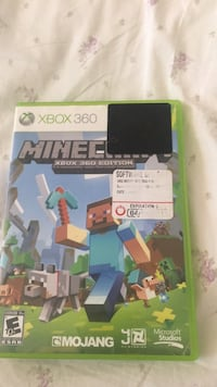 Minecraft Xbox 360 game case Brunswick, 21716