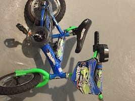 "16"" Hot Wheels Kids Bike"