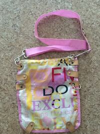 Pink and white crossbody bag Vaughan, L6A 1N1