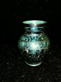 HAND CRAFTED & SIGNED ULTRA THIN BLUE GLASS Pawtucket, 02860