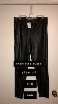 Charlotte russe leather pants