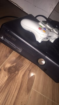 black Xbox 360 console with controller Calgary, T2A 6W3
