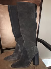 Vince Camuto Grey Suede Above Knee Boots Edmonton, T6W 1V8
