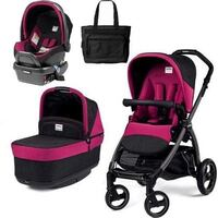 Peg Perego Book Stroller with bassinet and Prima Viaggio Car seat and base Mississauga, L5A 2P6
