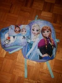 brand new frozen school bag with lunchbox and pencil pouch Laval, H7W