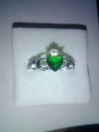 IRISH CLADDAGH RINGS! SILVER 925 STAMPED SIZES 6-7 Brampton, L6X