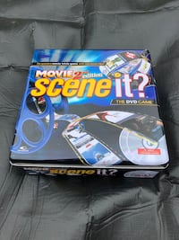 "Brand new second edition ""scene it "" DVD game, never used still in box"