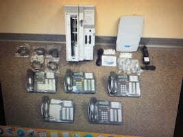 5 Nortel phone system, working and in great condition w/ voicemail integration.