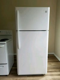 white top-mount refrigerator McLean