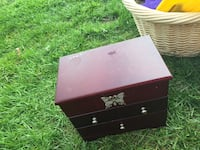 black and brown wooden chest box Baldwinsville, 13027
