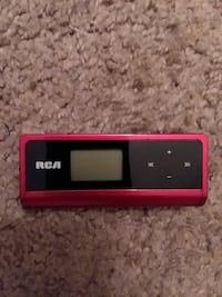 Red Rca Mp3 Player