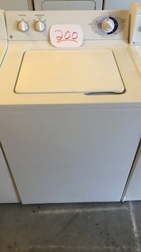 white top-load clothes washer Wilmington, 28405