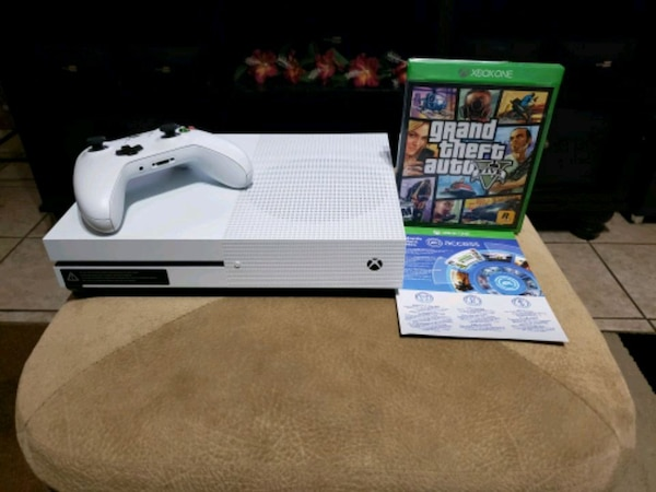 Xbox One S 1TB Bundle with GTA V + more