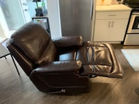 Brown Leather Recliner Chair Indianapolis, 46204