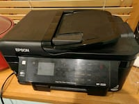 black Epson multi-function printer Washington, 20007
