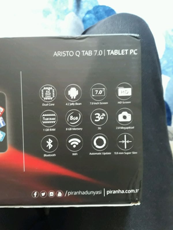 Piranha Aristo Q Tab 7.0 Tablet  53064be5-da1f-4773-be6b-a932b470b790