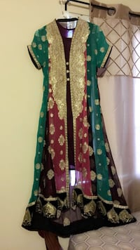 "Multi colors indian dress ""sell as is"""